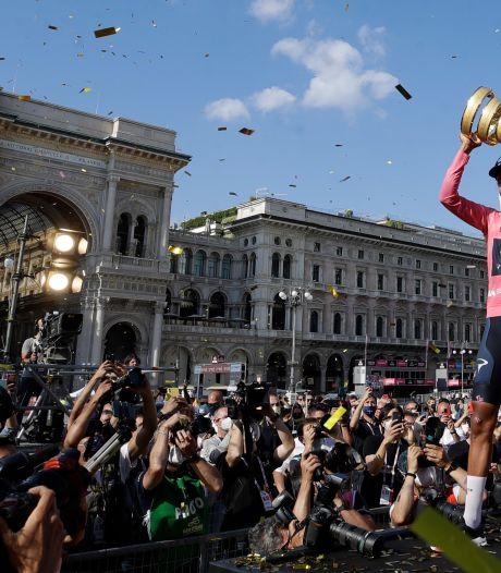 Egan Bernal remporte son premier Giro