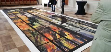 Opnieuw een streep door onthulling van indrukwekkend herdenkingsraam in Laurenskerk