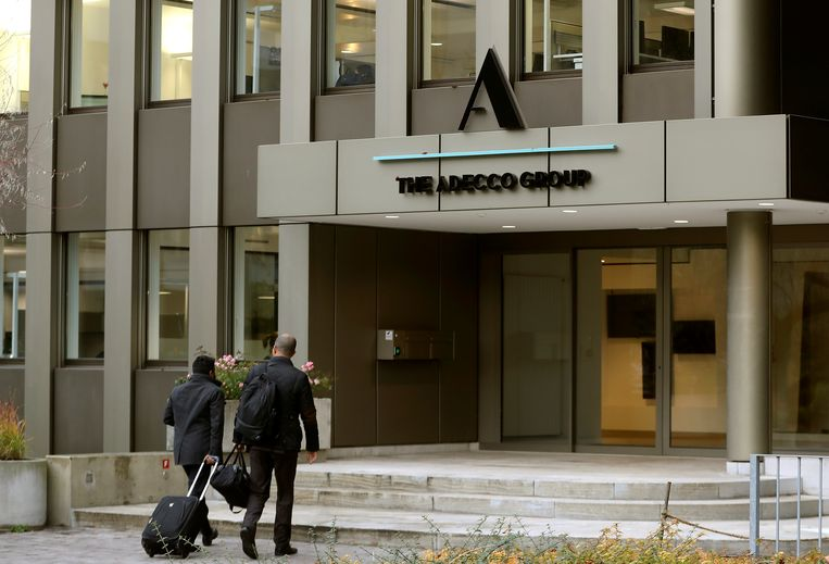 Het hoofdkwartier van Adecco. Beeld REUTERS