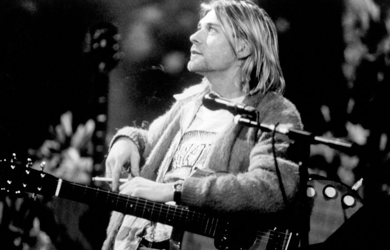 Kurt Cobain, Nirvana. Beeld MTV