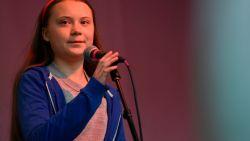 Greta Thunberg in Londen: 'Politici zullen niet meer wegkomen met negeren klimaatcrisis'