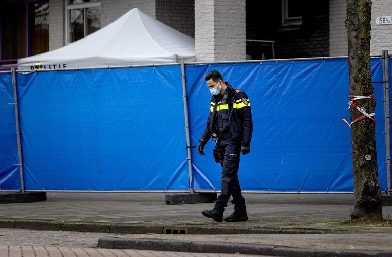Van de Pol is donderdag ter plekke overleden aan zijn verwondingen. Beeld ANP