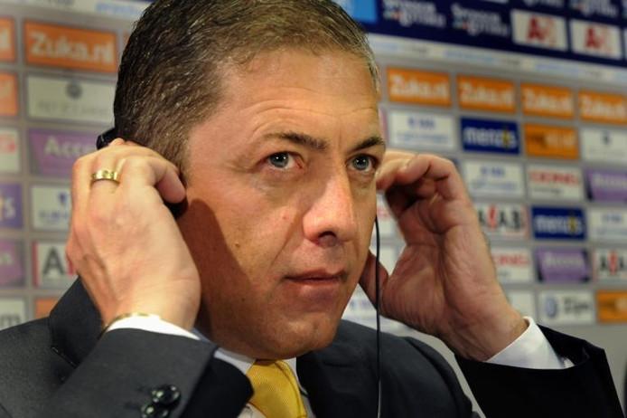 Voormalig clubeigenaar Merab Jordania van Vitesse.