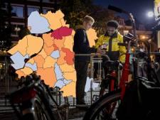 KAART   Staphorst voor achtste dag op rij in het rood, ook veel positieve tests in Zwartewaterland