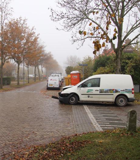 Gewonde bij ongeluk in Driewegen