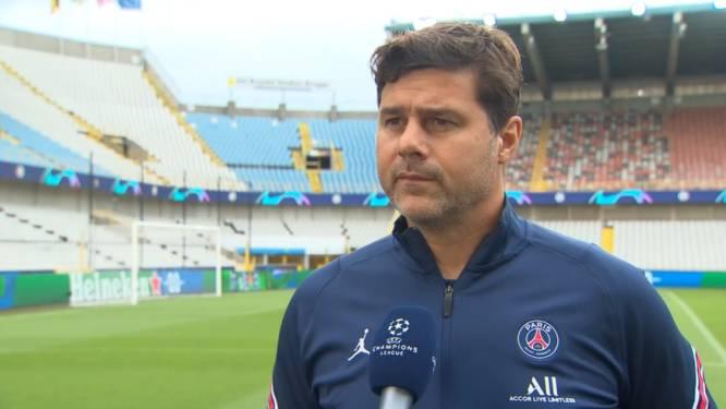 "PSG-coach Mauricio Pochettino: ""Met alle grote namen als één team spelen is de uitdaging"""