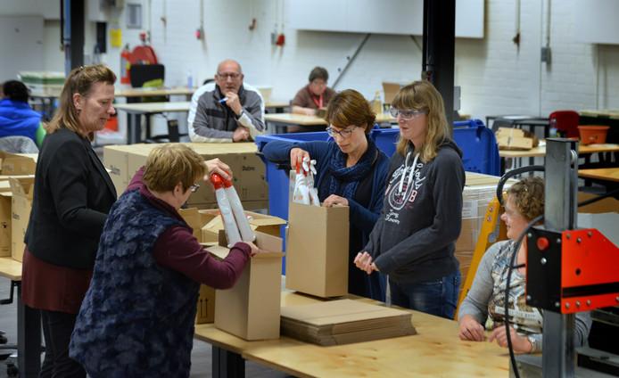 Werkzaak Rivierenland aan het werk in Geldermalsen.