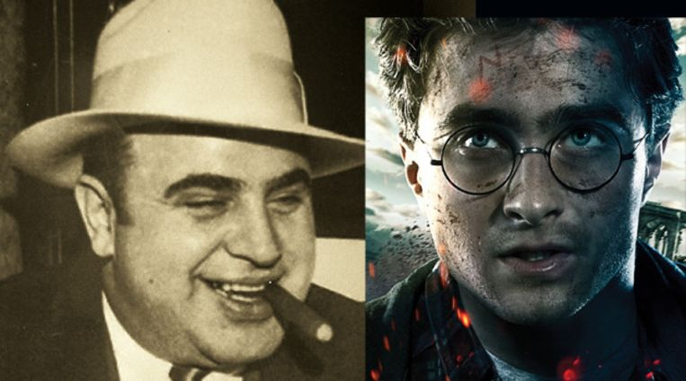Al Capone en Harry Potter Beeld