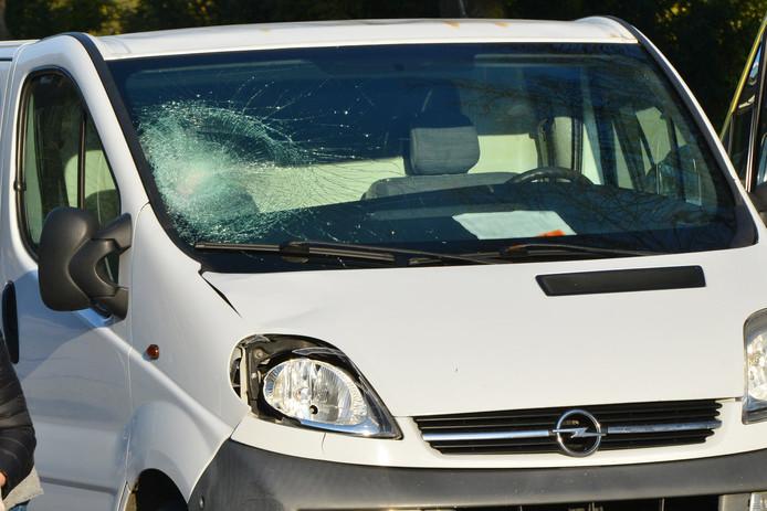 Man gewond na aanrijding in Breda.