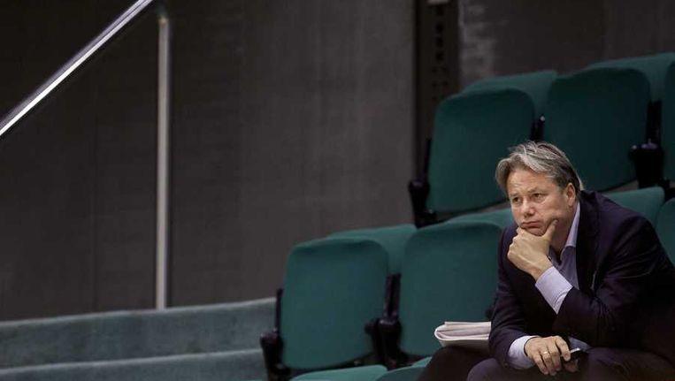 Henk Hagoort, voorzitter van de raad van bestuur van de Nederlandse Publieke Omroep (NPO). Beeld anp