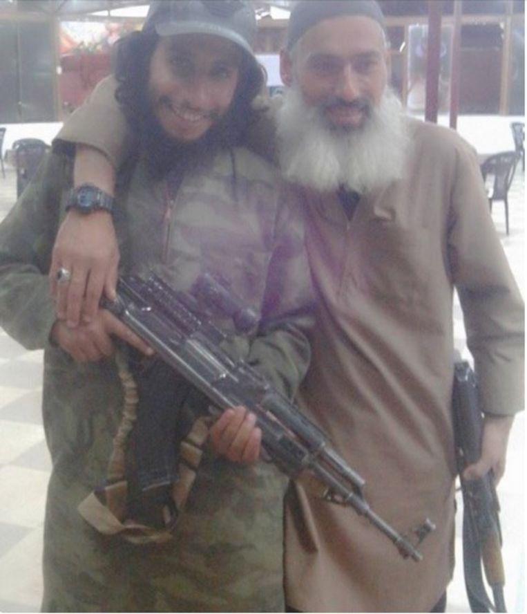 Abaaoud en Melouk Beeld rv