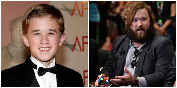 Haley Joel Osment speelde als kind  in 'The Sixth Sense'.
