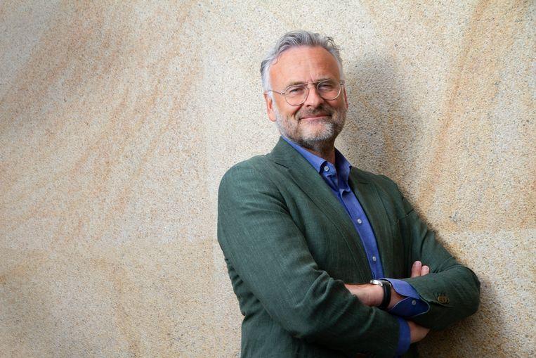 Jeroen Smit: 'Polman is niet dol op Nederland. Hij vindt het onbegrijpelijk dat Unilever hier niet juichend wordt binnengehaald.'  Beeld Walter Kallenbach