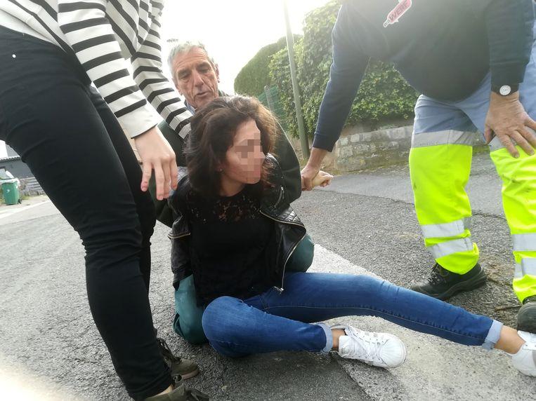 GLABBEEK-klopjacht inbrekers-dader is dame zwarte jas-Louis Vangramberen grijs haar