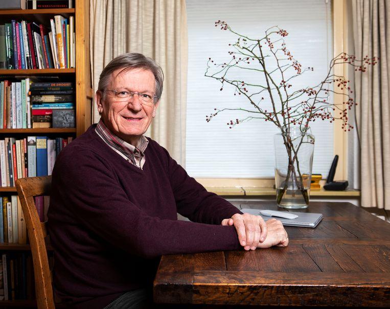 Henk Stenvers, op dit moment nog president-elect van het internationale bestuur van de doopsgezinden. Beeld Martijn Gijsbertsen