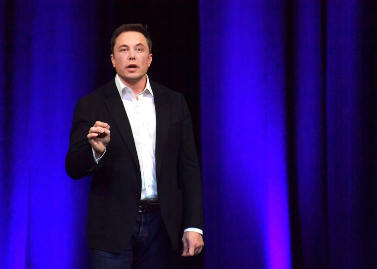 CEO van Tesla Elon Musk. Beeld EPA