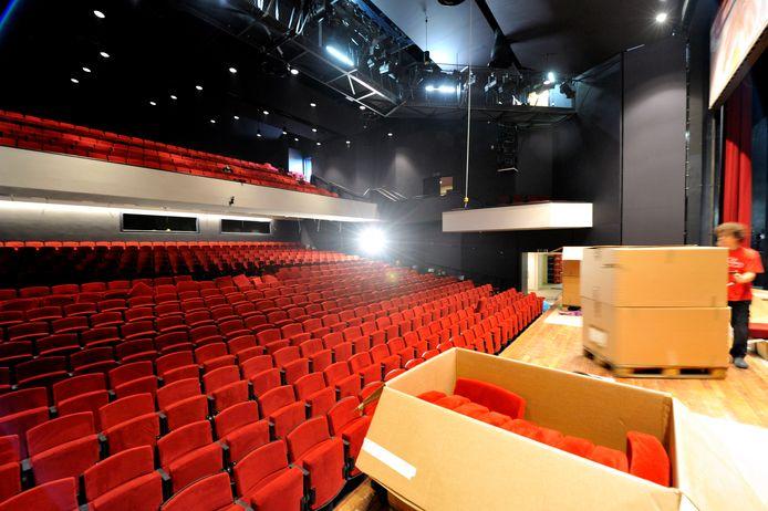 Archieffoto van theater De Kring in Roosendaal. Het publiek waardeert theaters en musea vanwege de coronabeperkingen meer dan ooit tevoren: gemiddeld rapportcijfer 8,5.