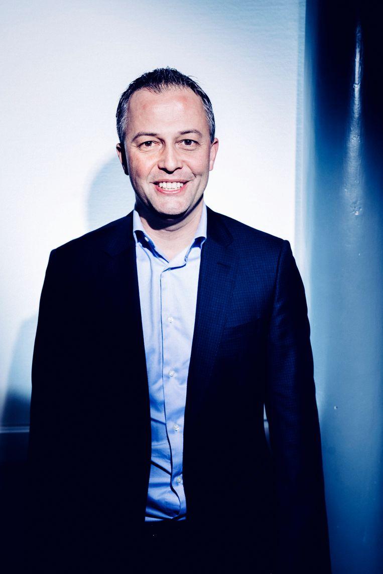 Kandidaat-voorzitter Open Vld Egbert Lachaert. Beeld Stefaan Temmerman