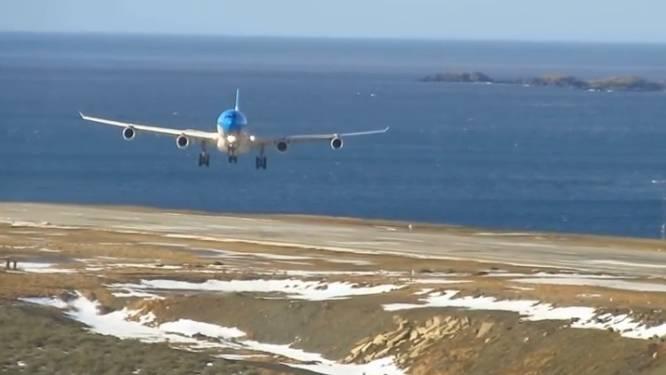 Bij vliegangst zeker NIET kijken naar deze landing