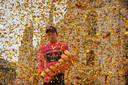 De Giro-winnaar van 2020: Tao Geoghegan Hart.