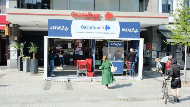 Staking in meer dan 40 Waalse en Brusselse Carrefour-winkels