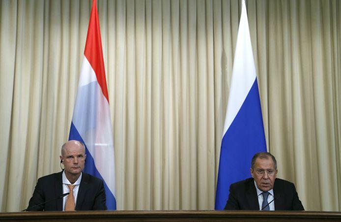 In april 2018 ging minister Stef Blok van Buitenlandse Zaken in Moskou op bezoek bij zijn Russische ambtsgenoot Sergej Lavrov.