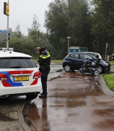 Na klap ziet Kampenaar (70) gekantelde scootmobiel, bestuurder (83) moet 'afscheid nemen van het leven'