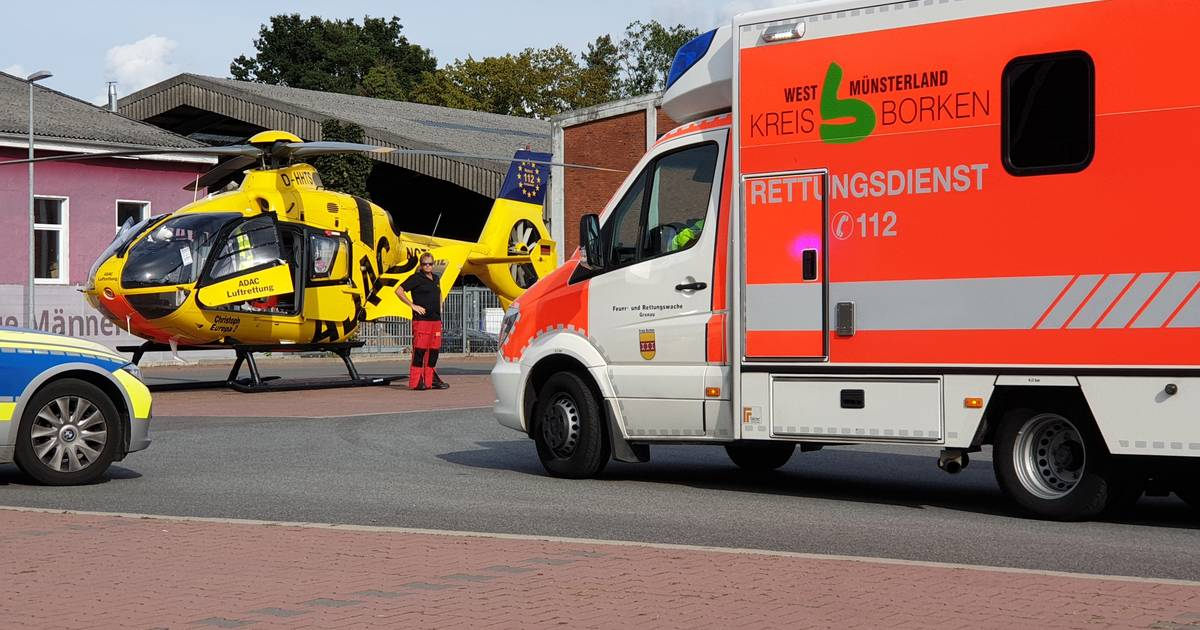 Jongetje ernstig gewond bij ongeval in Gronau.