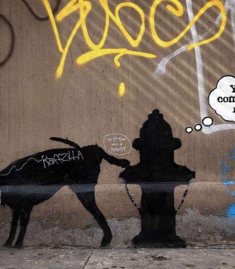 Bekendste graffiti-artiest ter wereld bewerkt New York