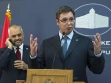 Albanië 'provoceert' Servië over Kosovo bij historisch staatsbezoek