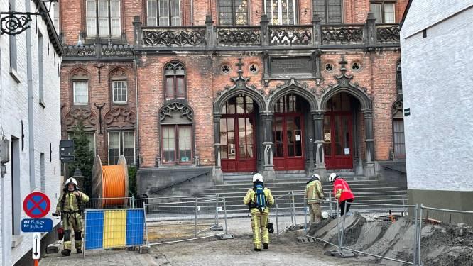 Gaslek in Sint-Jorisstraat snel onder controle