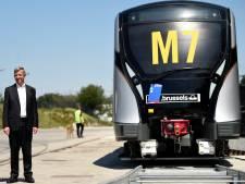 La STIB prend livraison de la première nouvelle rame de métro M7