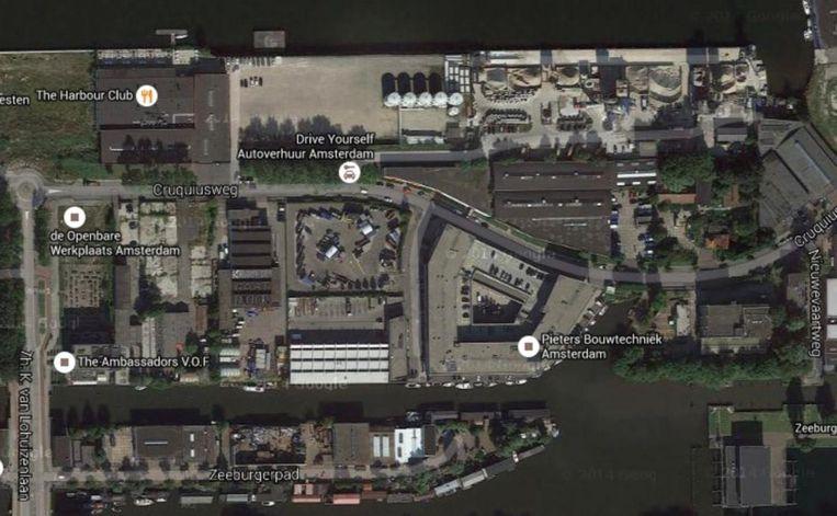 null Beeld Satellietbeeld via Google maps