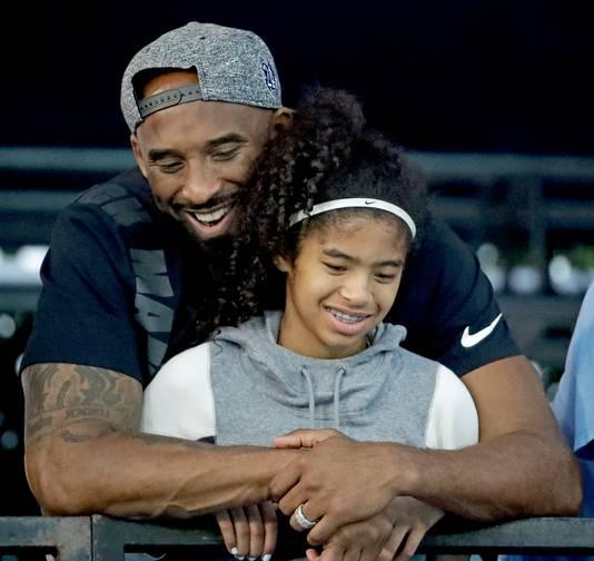 Kobe et sa fille Gianna