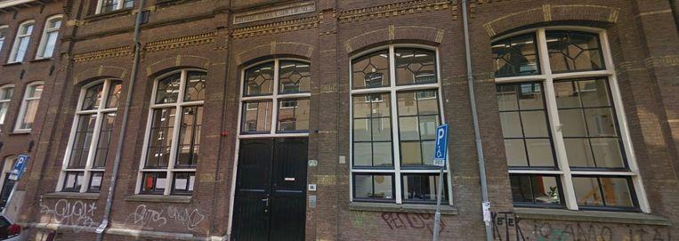 De Theo Thijssenschool op de Anjeliersstraat in de Jordaan. Beeld Google Streetview