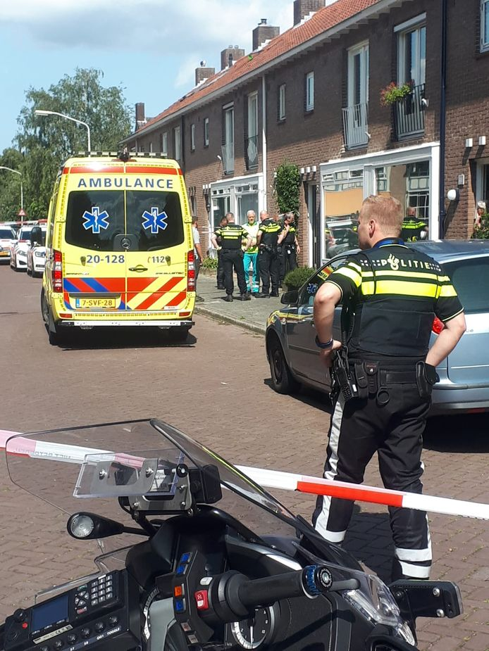 Steekpartij in woning Breda