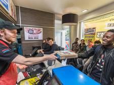 Drukte bij pizzeriaketen Domino's zorgt voor overlast