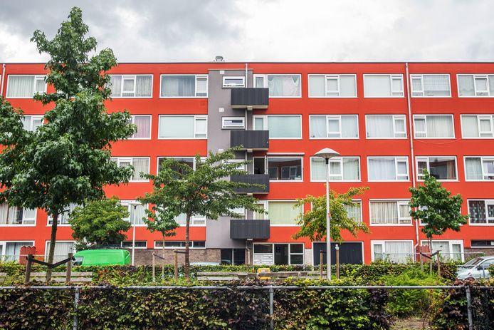 Sociale huurwoningen in de Utrechtse wijk Kanaleneiland.