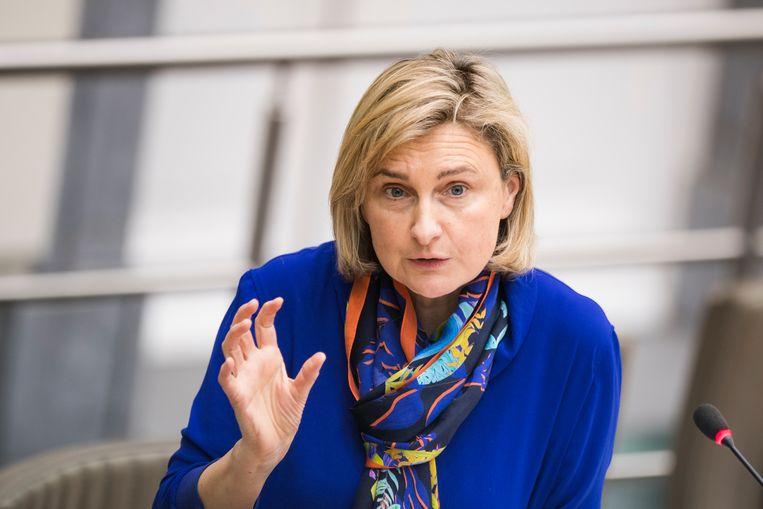 Vlaams minister van Onderwijs Hilde Crevits (CD&V). Beeld BELGA