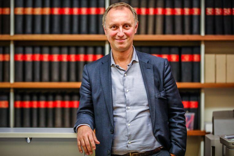 Bart van Opstal, woordvoerder van Notaris.be.  Beeld Benny Proot