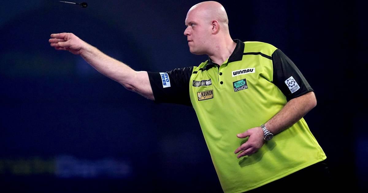 Van Gerwen strandt in halve finale Players Championship in Bolton - AD.nl