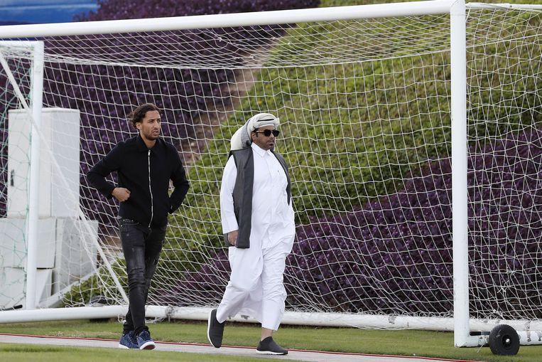 Nasser El Khayati speelde voor Qatar SC. Beeld ANP Sport