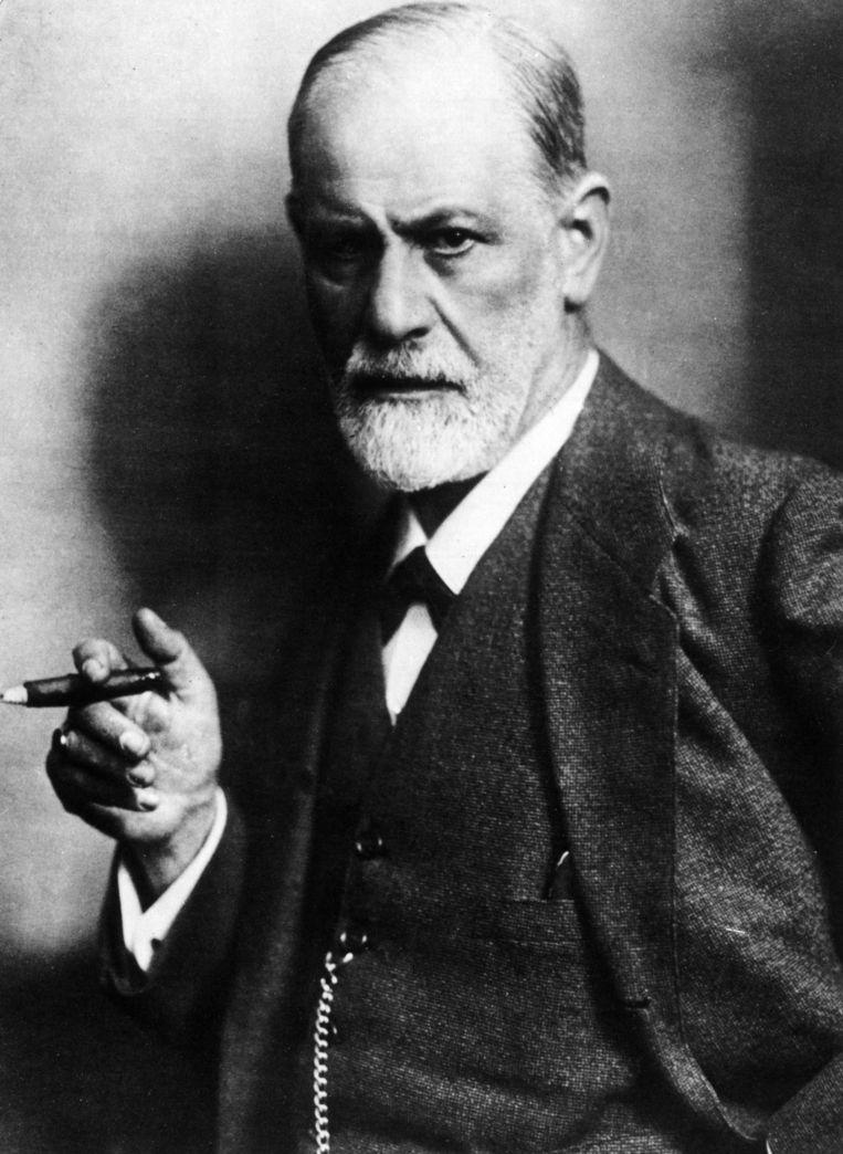 Jacques Van Rillaer zet de theorieën van Freud bij het vuilnis: 'Freud kon mooi schrijven, maar hoe meer je zijn teksten van dichtbij bestudeert, hoe absurder ze worden.' Beeld Mondadori via Getty Images
