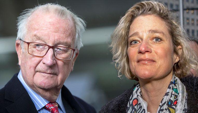 Koning Albert II en Delphine Boël