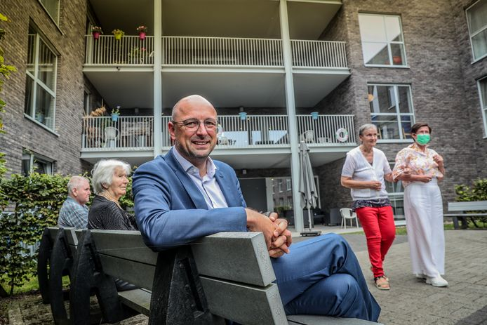 Dominiek Beelen, CEO van Korian, de grootste groep van woonzorgcentra van ons land