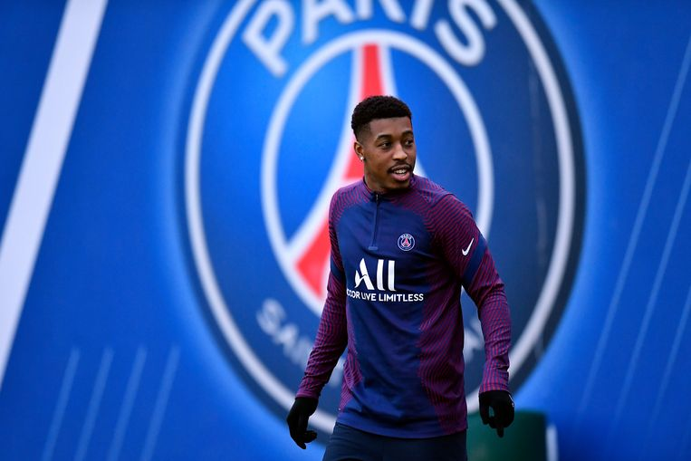 Presnel Kimpembe  Beeld PSG via Getty Images