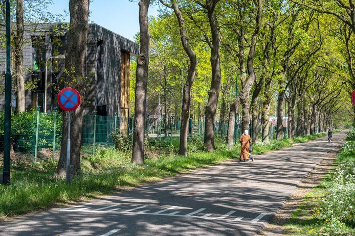 De Stevensbeekseweg, de weg naar het AZC in Overloon.