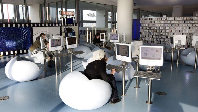 De bibliotheek van Amsterdam. Beeld ANP
