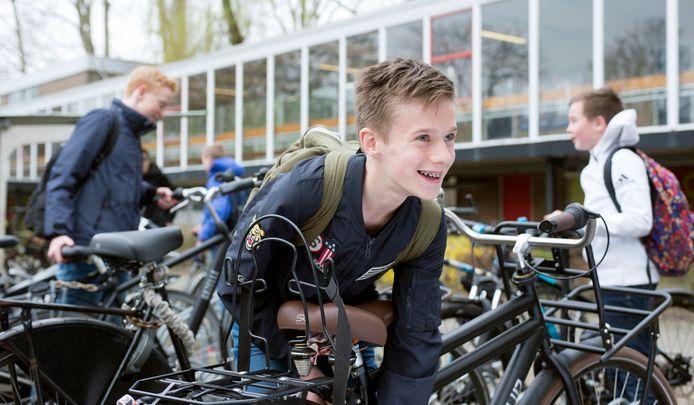 De stichting Leergeld Twenterand kan helpen met de aanschaf van onder meer een fiets.