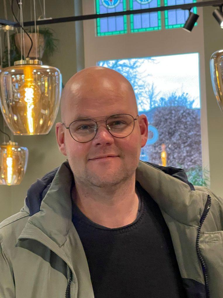 Robin Wijnen (43): 'We vallen buiten de boot en er is geen reddingsvest om de kant te bereiken.' Beeld